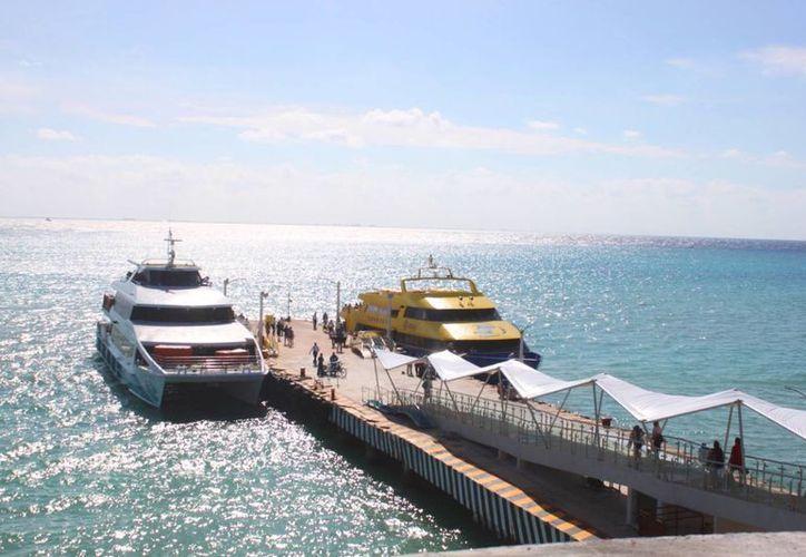 La nueva terminal marítima de Playa del Carmen opera al 100%. (Daniel Pacheco/SIPSE)