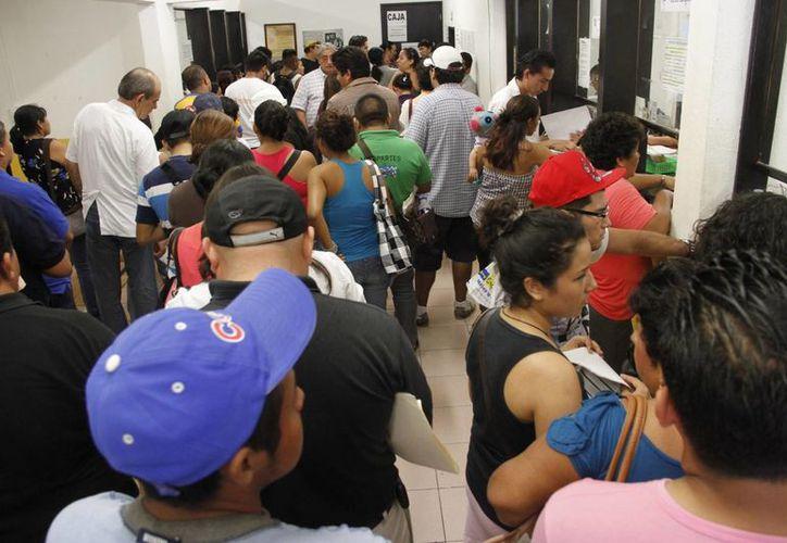El Registro Civil de Benito Juárez expide 31.1 actas de nacimiento al día. (Tomás Álvarez/SIPSE)