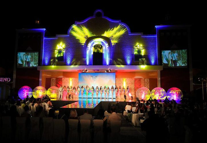 La elección de Miss Earth México 2015 se realizó en el complejo Bahía Príncipe en Tulum. (Notimex)