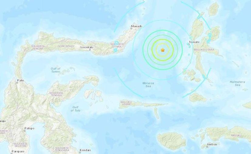 Las autoridades no han reportado daños tras el sismo registrado en el mar. (usgs.gov)