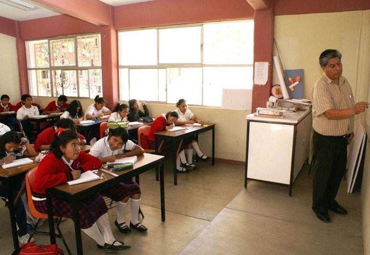 Aurelio Nuño Mayer, titular de la Secretaría de Educación Pública, presentó la Estrategia Nacional de Formación Continua de Profesores de Educación Básica y Media Superior. (Notimex/archivo)