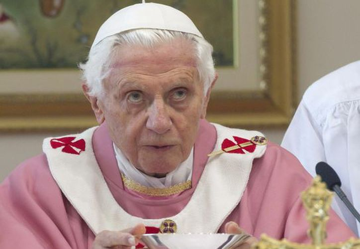 """El Papa afirma que """"el sexo ya no es un dato originario de la naturaleza sino un papel social que se elige"""". (EFE)"""