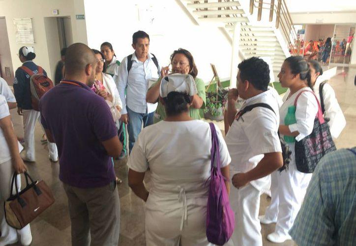 Hasta enero pasado había 617 empleados, de los cuales el 70% es médico y de enfermería y un 30% administrativo. (Adrián Barreto/SIPSE)