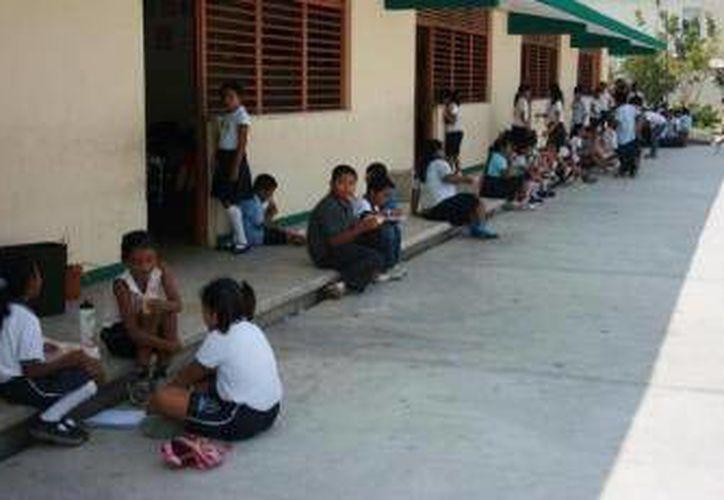 Se espera que las escuelas puedan recibir a por lo menos 300 alumnos de nuevo ingreso.  (SIPSE)