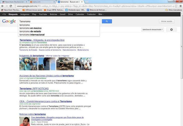 Google presentó su informe de transparencia. (SIPSE)
