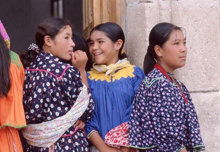 Las niñas indígenas de Chihuahua no saben que serán de grandes. (Foto de contexto, tomada de tarahumara.net)