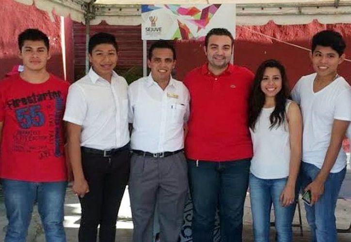 El secretario de la Juventud, Luis Borjas Romero, encabezó ayer la primera sesión ordinaria del Comité Técnico del programa Impulso al Autoempleo Juvenil 'Emprender' 2016. (Milenio Novedades)