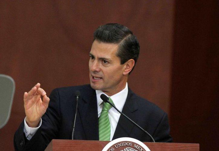 El presidente Peña Nieto, a invitación de su homólogo estadunidense, Barack Obama, asistirá el 31 de marzo a la cena de jefes de Estado en la Casa Blanca. (Archivo/Notimex)