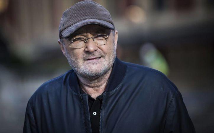 Phil Collins realizó se retiro de la música en 2002, pero cinco años más tarde realizó su última gira musical.(Vianney Le Caer/AP)