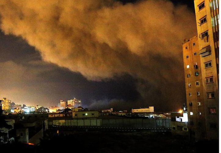 La Defensa de Israel indicó que la ofensiva se ampliará hasta desmantelar la infraestructura de Hamas. (EFE)