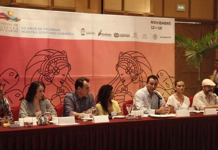 En conferencia de prensa se dieron a conocer los eventos que se llevaran durante las festividades del Fecuca. (Redacción/SIPSE)
