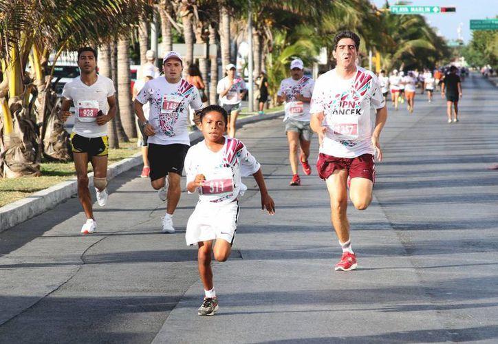 El evento tuvo lugar en el kilómetro 12.5 de la zona hotelera. (Redacción/SIPSE)