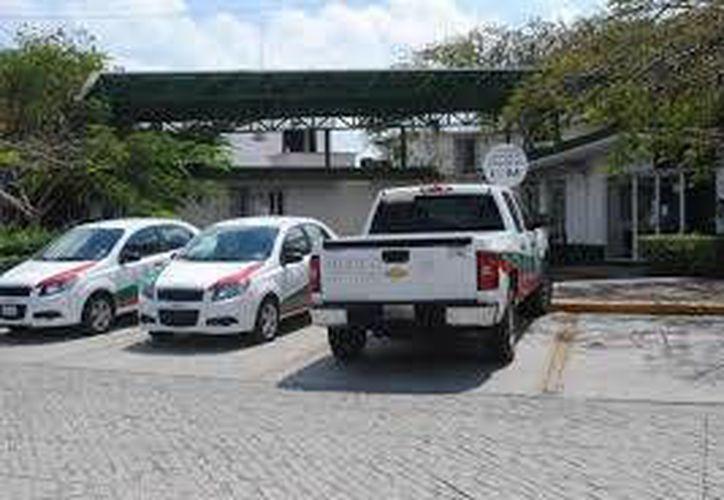 Instituto Nacional de Migración en Cancún. (Redacción/SIPSE)
