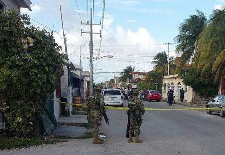 La tarde de Cozumel fue alterada con el reporte de detonaciones de arma de fuego en la colonia San Miguel. (Irving Canul/SIPSE)