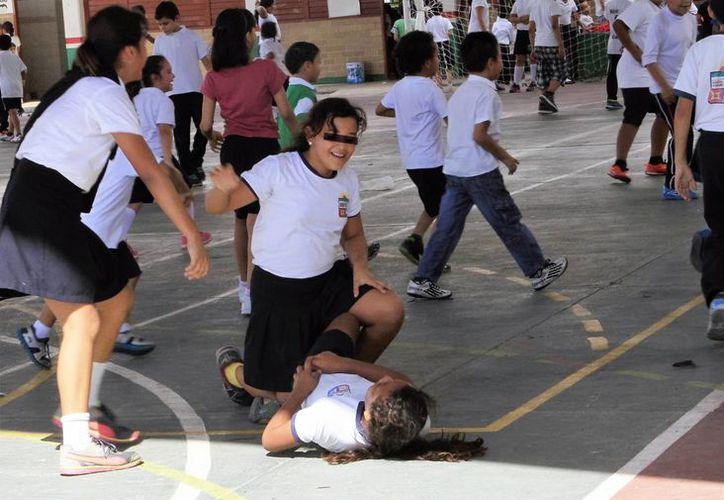 Uno de los objetivos en las escuelas es eliminar cualquier tipo de bullying.(Paloma Wong/SIPSE)