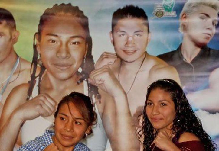 """Este viernes se hará la ceremonia de pesaje de """"Pantera"""" Torres y """"Dinamita"""" Noriega. (Notimex)"""