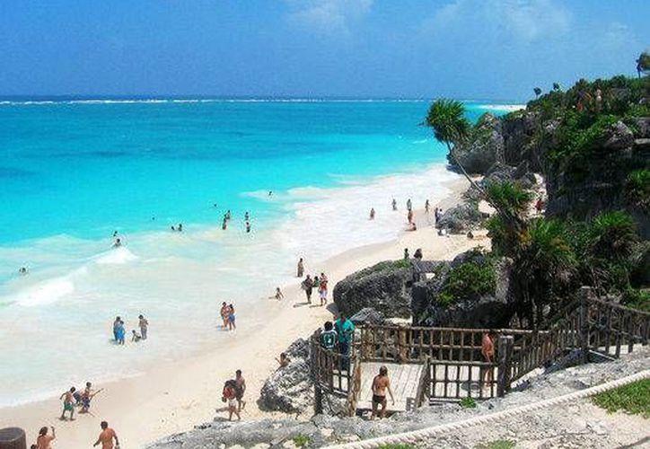 Tulum, fue nominado en los World Travel Awards, en la categoría de mejores playas del mundo. (Contexto/Internet)