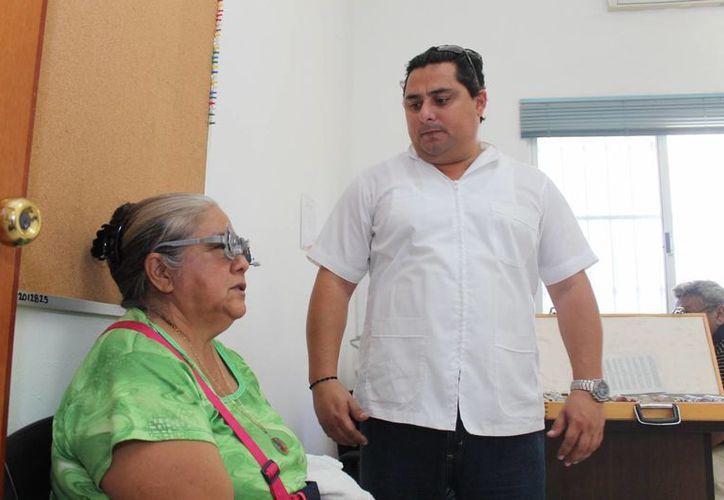 Médicos especialistas realizarán la Campaña de Salud Visual. (Cortesía/SIPSE)