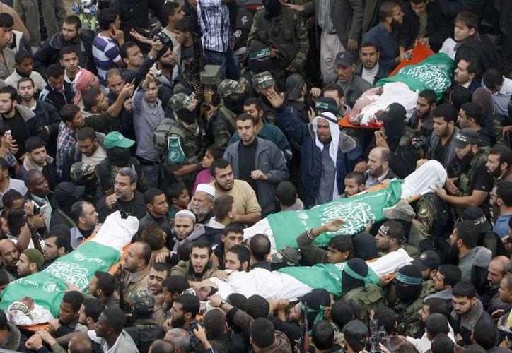 La UNOCHA informó la muerte de al menos 158 palestinos, 103 de ellos civiles. (Agencias)