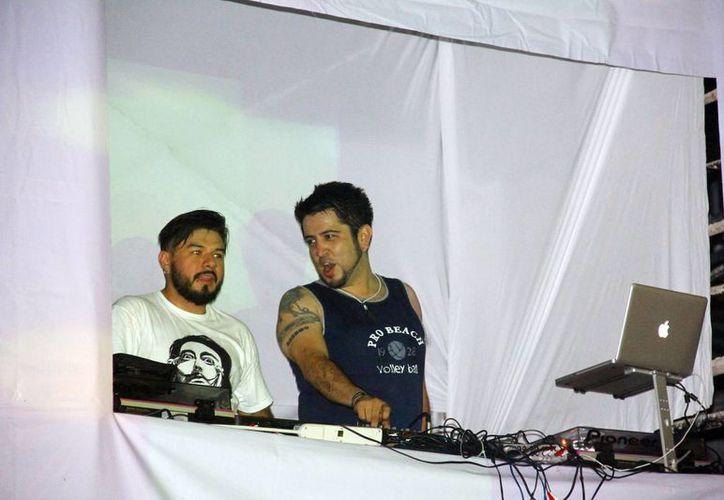 """DJ Rams cerró la noche del sábado del maratón de DJ's """"Electrokiss V9""""."""