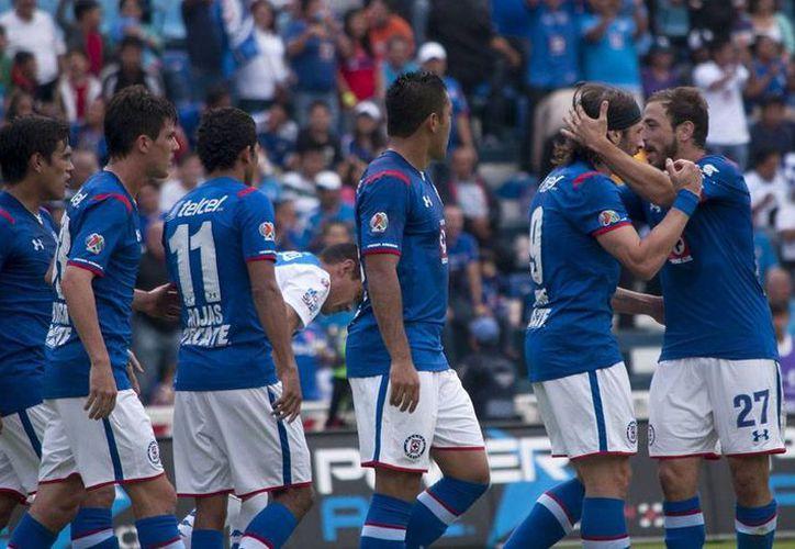 """A pesar del empate sin gol con el Guadalajara, los """"celestes"""" sumaron nueve puntos en la clasificación general. (Archivo Notimex)"""