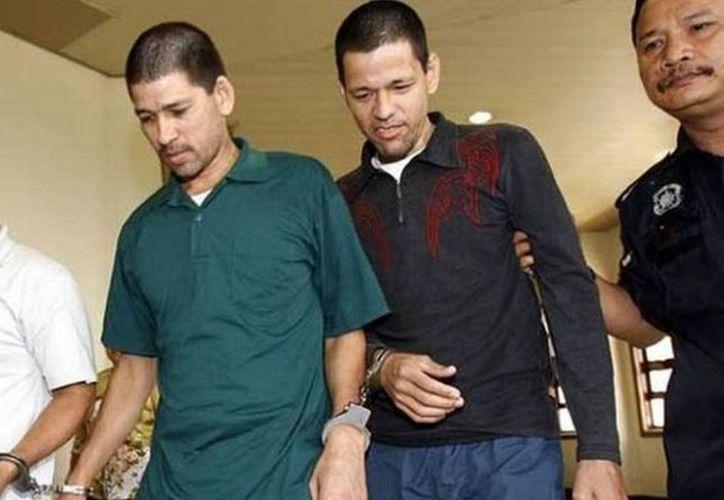 Los hermanos Luis Alfonso, Simón y José Regino González Villarreal no irán a la horca, castigo que se impone en Malasia a quienes trafican con drogas. (Internet)