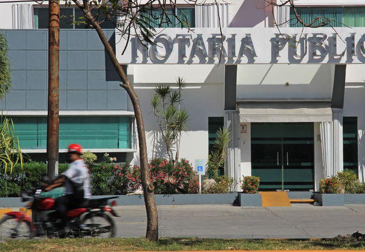 El Colegio de Notarios de Quintana Roo es dirigido por el titular de la Notaria 27 Miguel Mario Angulo Salas. (Jesús Tijerina/ SIPSE)