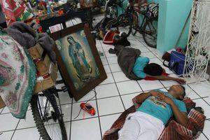 Miles acuden a felicitar a la 'Morenita' del Tepeyac