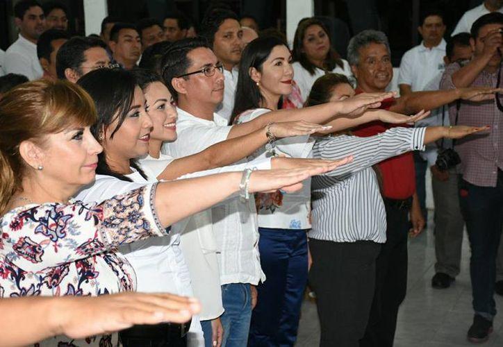 El viernes, el Comité Directivo Estatal del PRI hizo pública la convocatoria para la selección y postulación de candidaturas. (Joel Zamora/SIPSE)