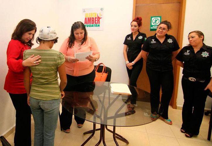 La Alerta Ámber se activó hoy por la desaparición de una joven de 13 años de edad en Yucatán. En la imagen, Jessica Montejo, la primera desaparecida que fue localizada por la Alerta, en diciembre de 2013. (Archivo/SIPSE.com)