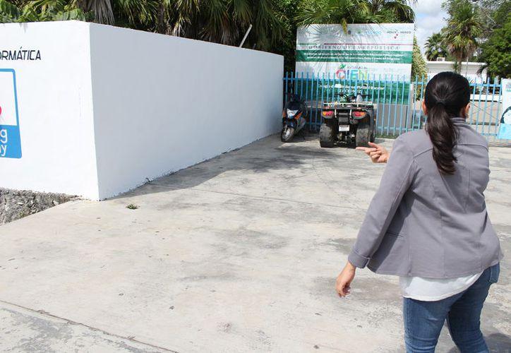 Se desconoce el objetivo y la razón por el cual fueron borrados  los murales. (Foto: Alejandra Carrión/SIPSE)