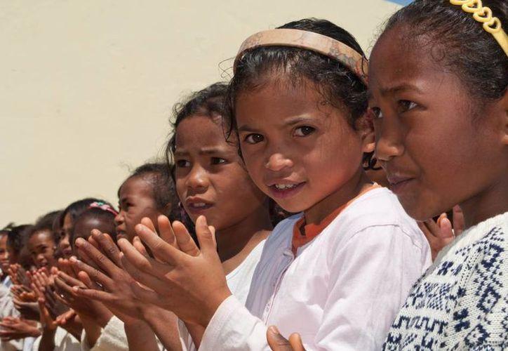 La población actual de Madagascar es una mezcla afroindonesia. (Saveoursmile/Hery Zo Rakotondramanana)