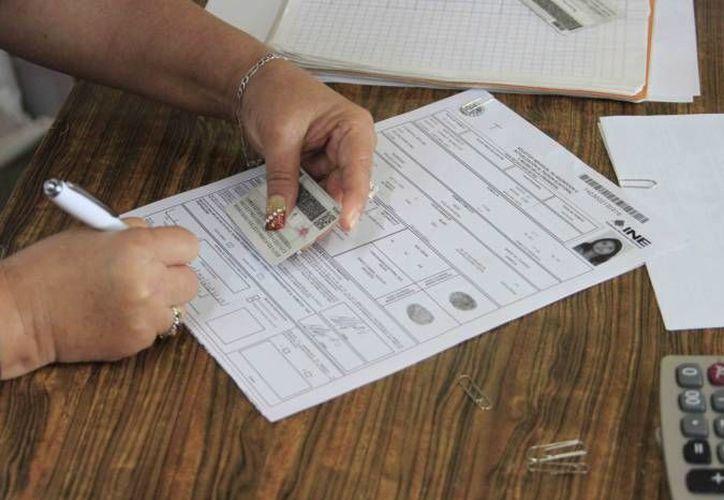 Las credenciales se podrán tramitar nuevamente a partir del 6 de junio. (Redacción/SIPSE)