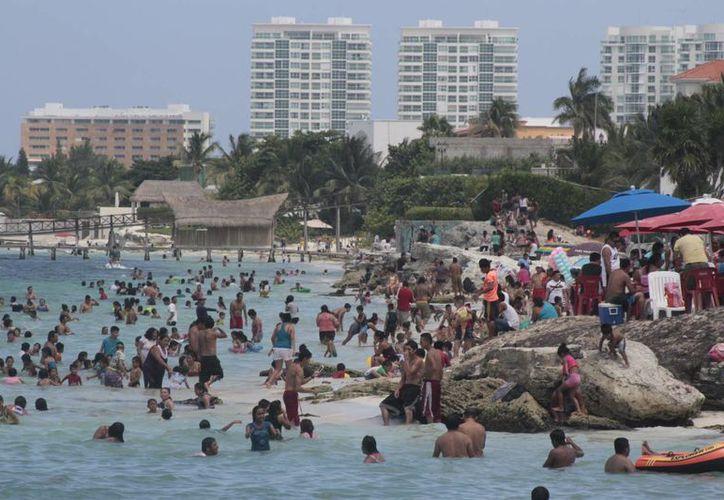 Registran histórica temporada de verano en Cancún y Puerto Morelos. (Israel Leal/SIPSE)