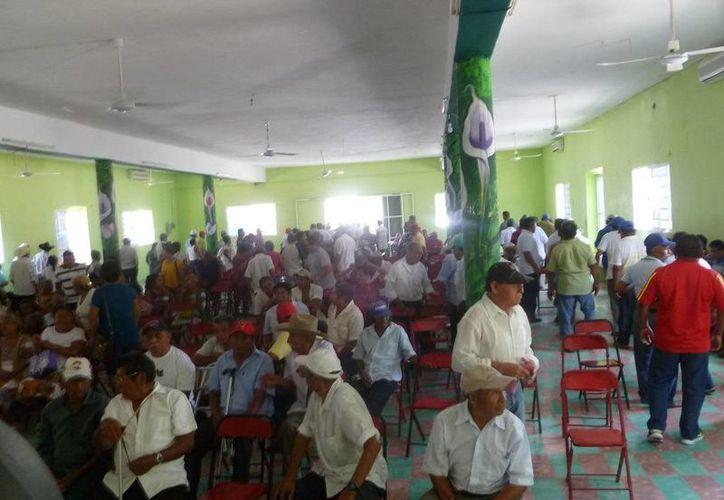 Indican que las tierras son propiedad de los mil 116 comuneros. (Raúl Balam/SIPSE)