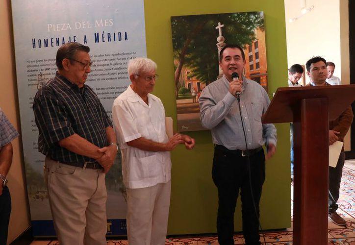 """La exposición fue inaugurada en el Museo de la Ciudad a través del programa """"La Pieza del Mes"""". (Foto: Jorge Acosta/Novedades Yucatán)"""