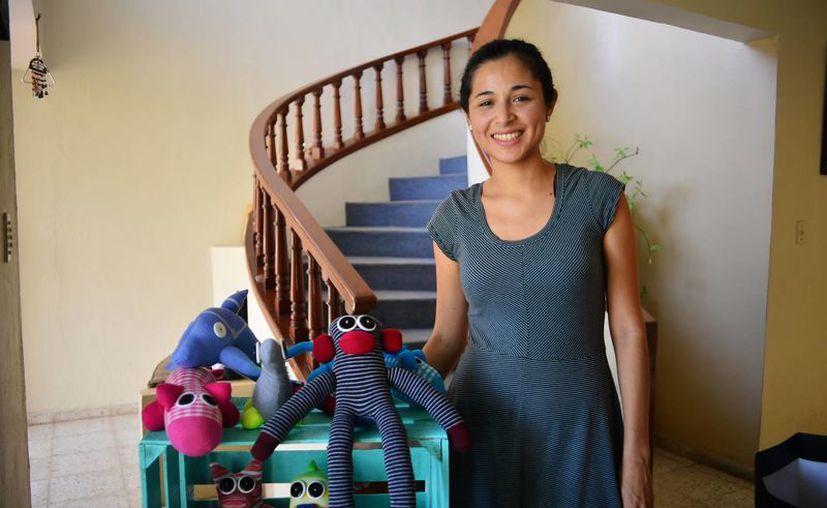 """Montserrat Alejos Polanco planea abrir su propia tienda, """"Morosho"""", donde venderá sus propias creaciones. (Milenio Novedades)"""