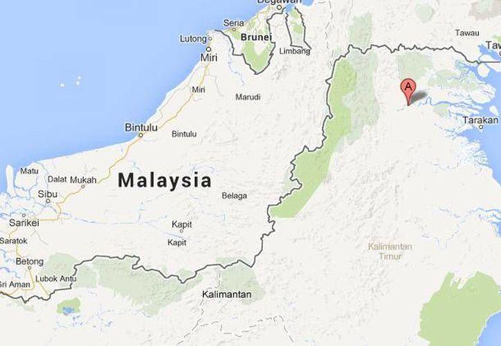 El helicóptero militar estaba a unos minutos de aterrizar en la zona fronteriza cuando se accidentó. (Google Maps)