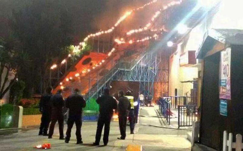 Se Incendia Un Juego En La Feria De Chapultepec Noticias De