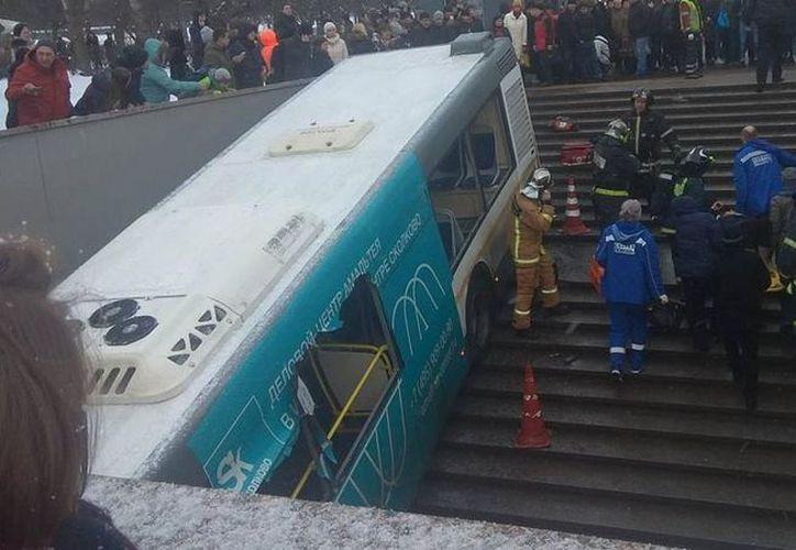 El alcalde de Moscú, Sergei Sobyanin, expresó sus condolencias a los familiares de los muertos en el accidente. (Contexto/Internet)