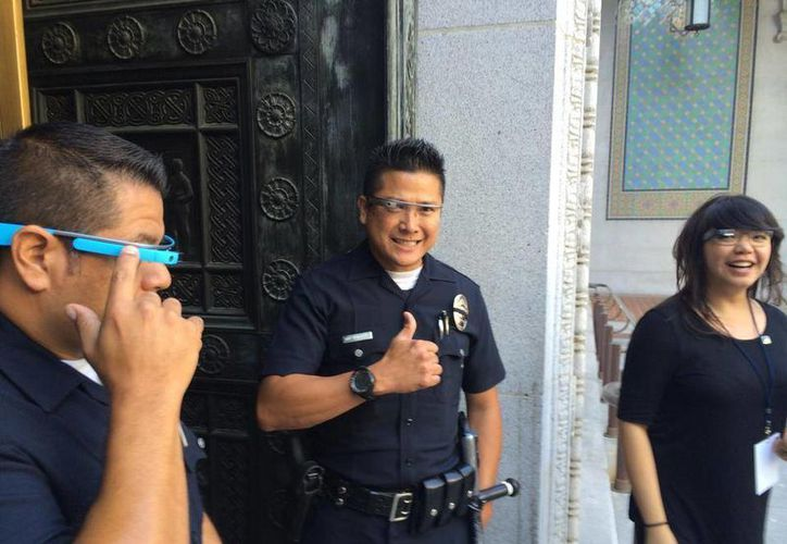 La Policía de Los Ángeles cuenta entre sus filas con varios paisanos yucatecos. (Facebook/Mayor Eric Garcetti)
