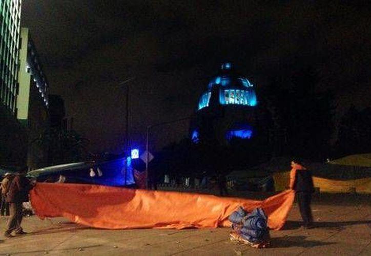 Liberan el circuito vial que rodea el Monumento a la Revolución. (Milenio)