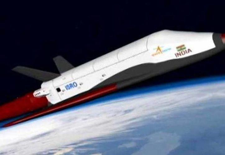 El primer transbordador no tripulado fabricado totalmente en el país fue lanzado. (Imagen te contexto tomada de newsnation.in)