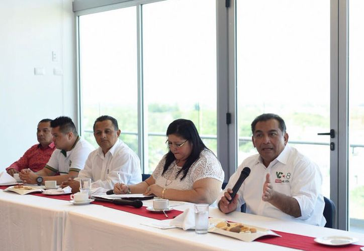 Con nueva visión, Mérida será polo de inversión y desarrollo: Víctor Caballero. (Milenio Novedades)