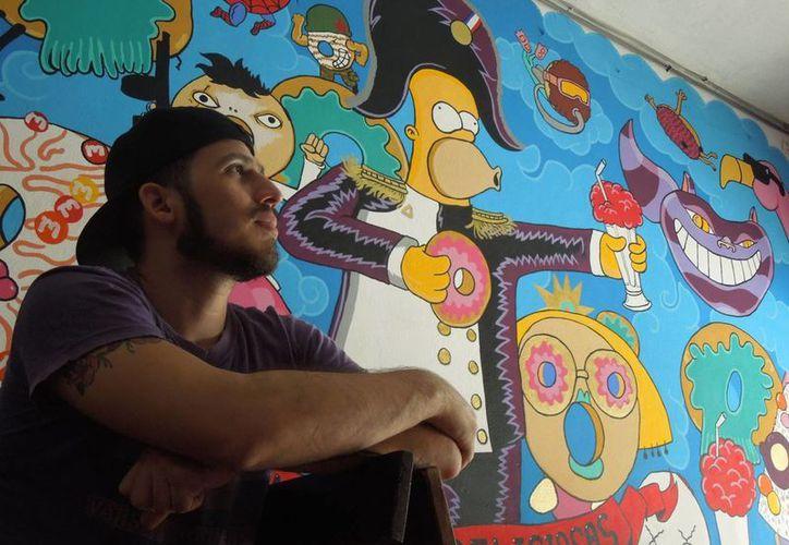 El donero tekaxeño José Antonio Osorio Cerón ve con buenos ojos la llegada de Krispy Kreme a Yucatán, pese a que representa una gran competencia y un gran desafío como empresario. (Foto: Christian Coquet/SIPSE)