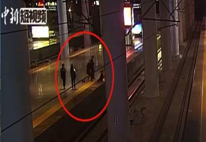 El hecho se registró en la estación de tren de Nanjing. (vanguardia.com)