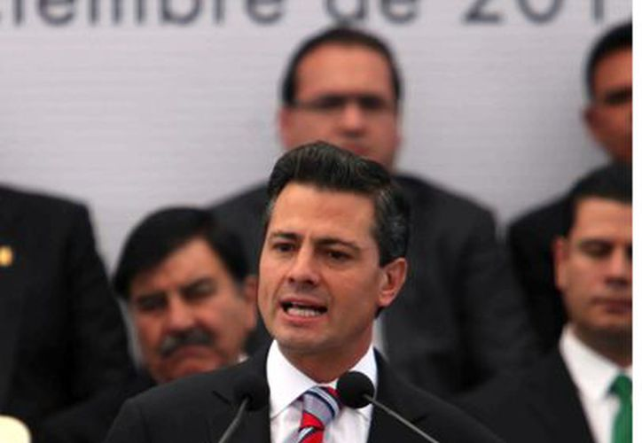 El presidente Peña cuenta actualmente con la confianza del 47 por ciento de la población. (Agencia Reforma)