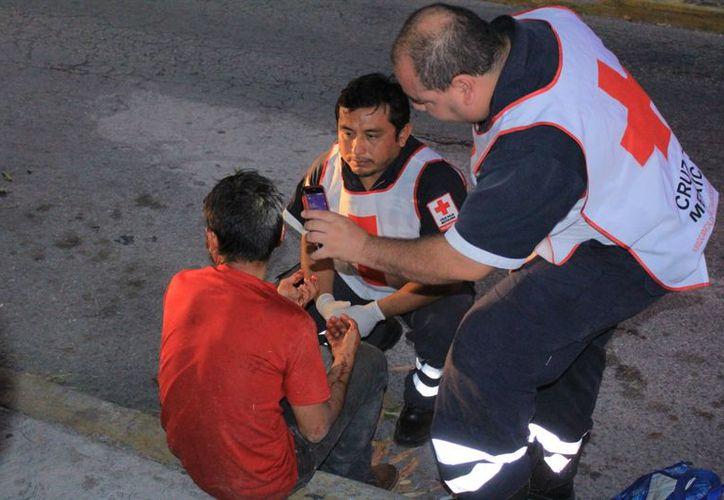 El hombre llegó a Playa del Carmen para reunirse con sus familiares. (Foto: Redacción/SIPSE).