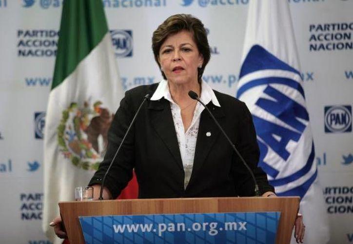 Cecilia Romero afirma que las dificultades que atraviesa el PAN son naturales de todos los partidos democráticos. (Archivo/SIPSE)