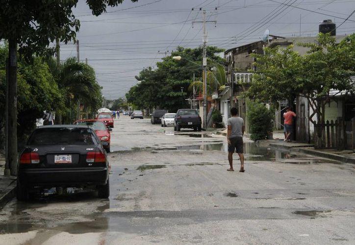 Un ciudadano menciona que en Cancún no se respira paz. (Tomás Álvarez/SIPSE)